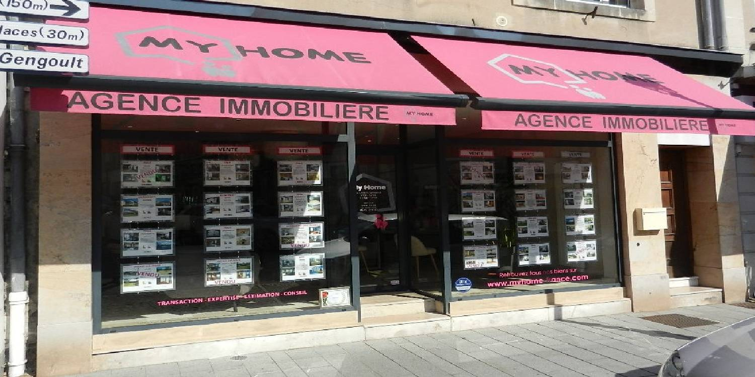 Agence immobili re my home sur toul nancy et environ pour for Agence immobiliere nancy